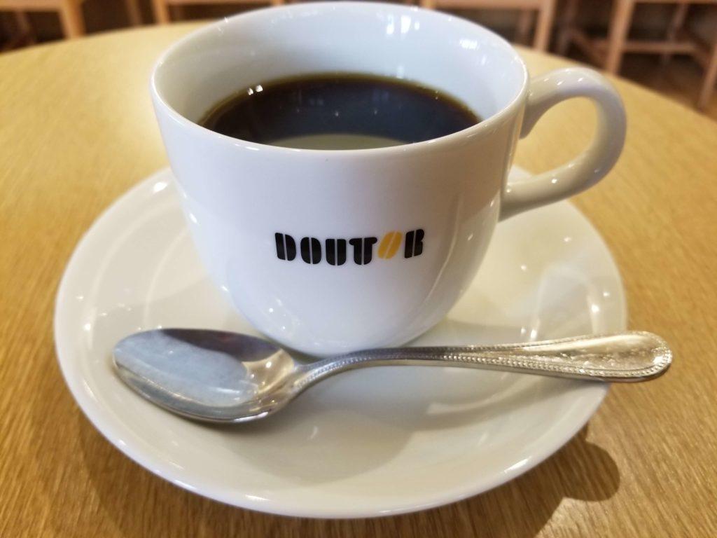 ドトールアメリカンコーヒーS