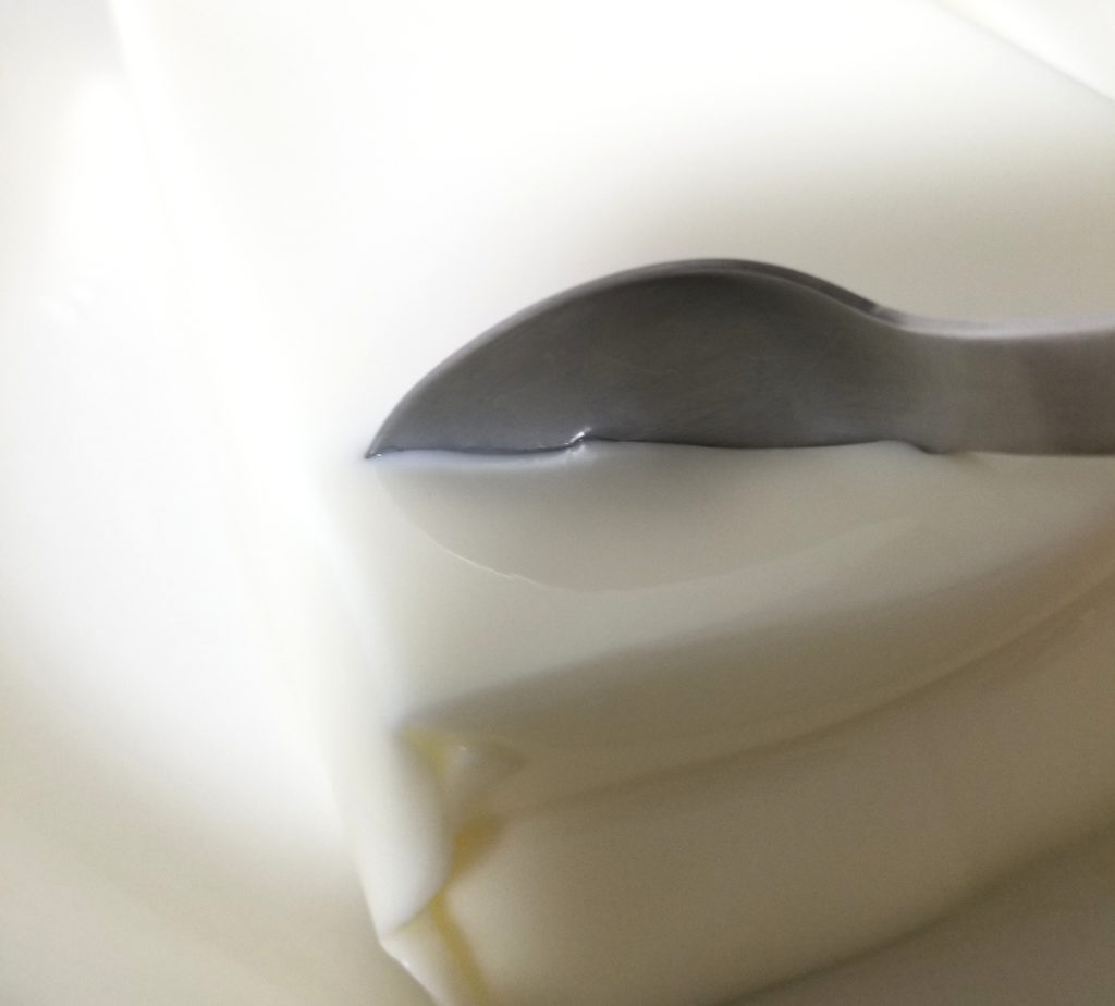 kaldiパンダ杏仁豆腐実食1