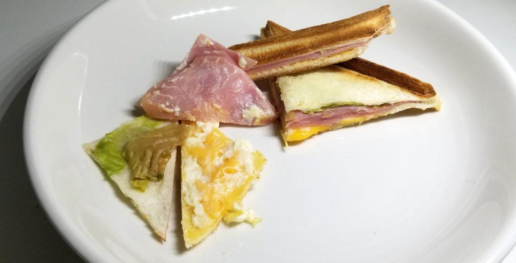 marcハムチーズ開き