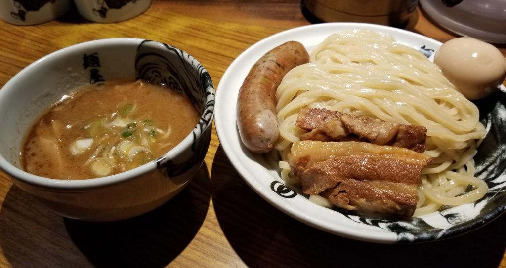 ramen麺屋武蔵虎洞濃厚虎洞つけ麺紹介画像