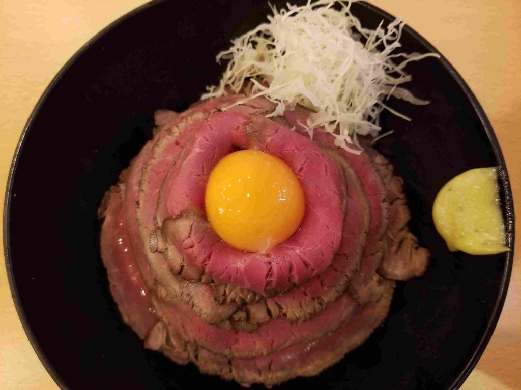 the肉丼の店レアローストビーフ丼並