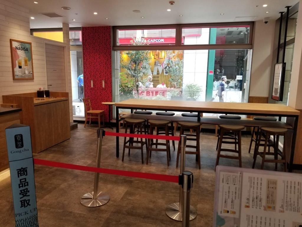 Gongcha店内