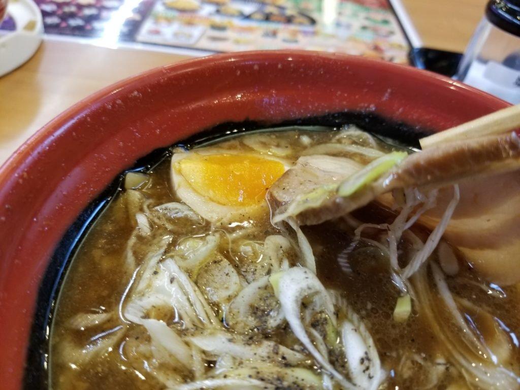くら寿司豚骨醤油ラーメン06