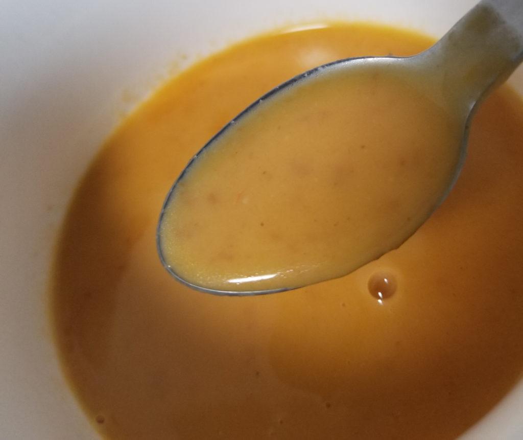 kaldi濃厚えびクリームスープ加熱後