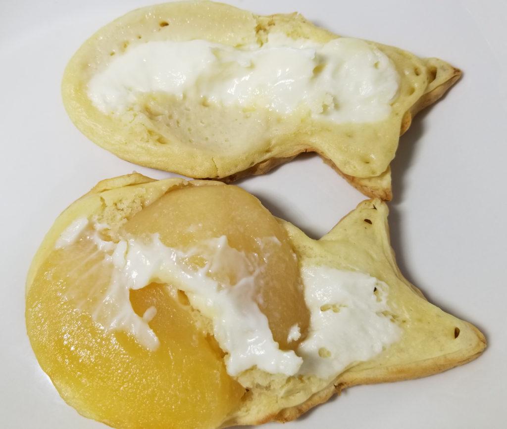 くりこアップルチーズクリーム開き