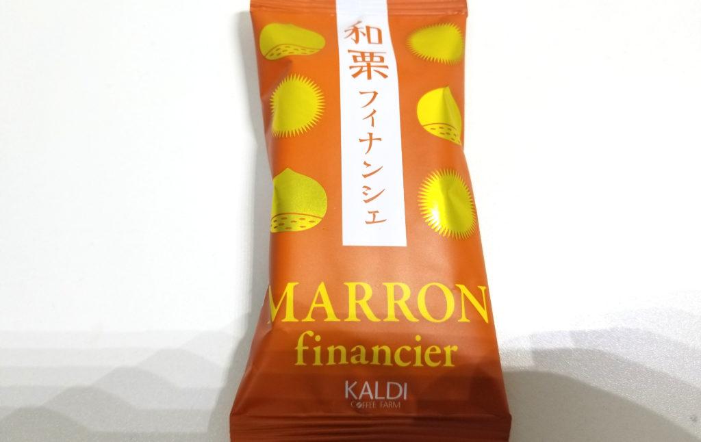 kaldi和栗フィナンシェ紹介画像