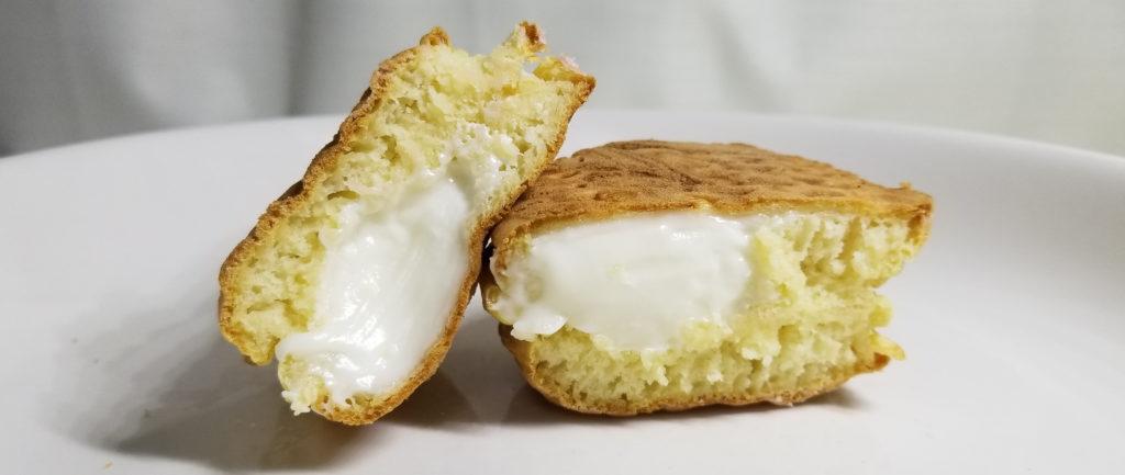 くりこ豆乳クリーム断面