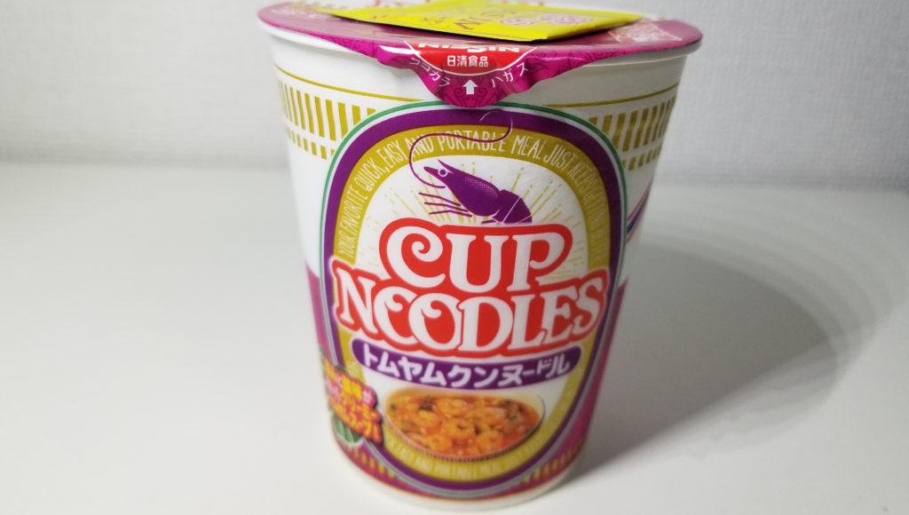 cup日清トムヤムクンヌードル紹介画像