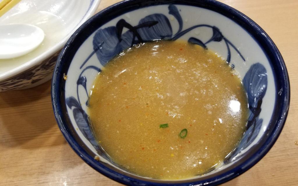 aoba昆布水つけ麺スープの昆布水割