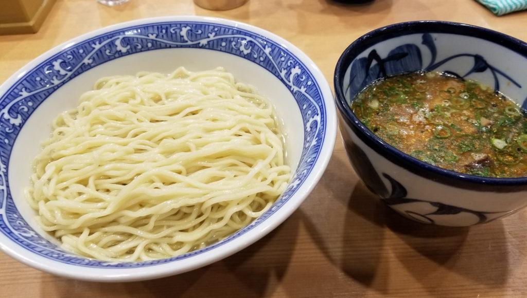 aoba昆布水つけ麺紹介画像