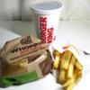 【バーガーキング】ワッパーチーズセット(ワッパーチーズ、フレンチフライM、コーラM