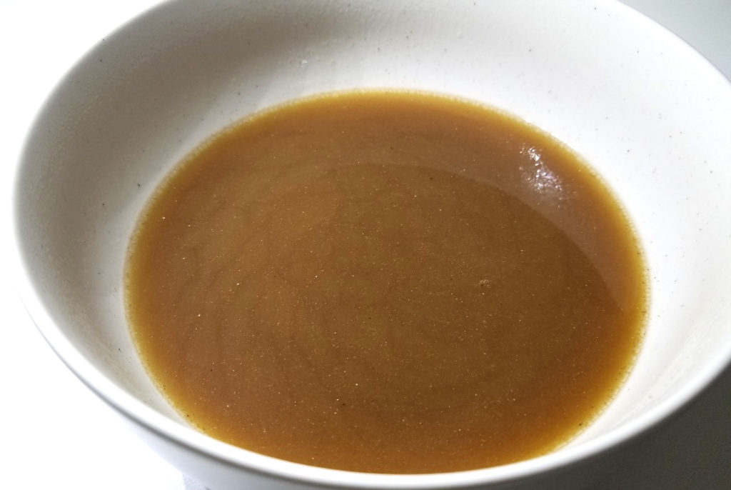 kaldi鬼煮干しラーメンスープ完成