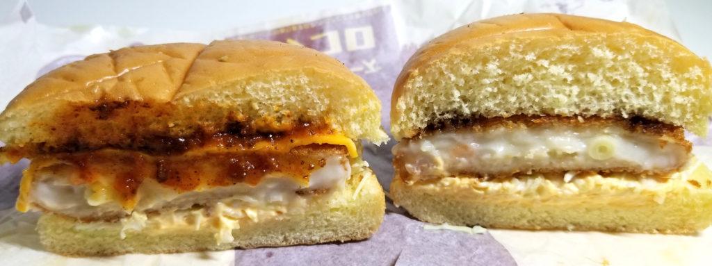 macビーフデミチーズグラコロ比較断面