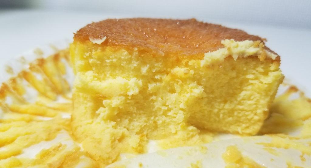sevenバスクチーズケーキ断面