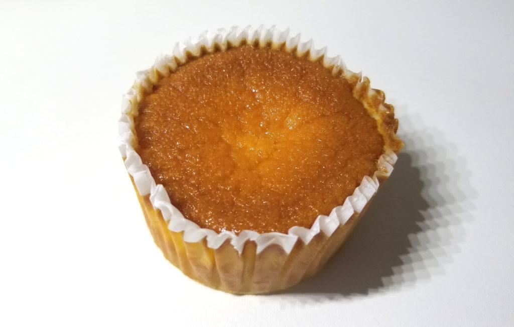 sevenバスクチーズケーキ開封