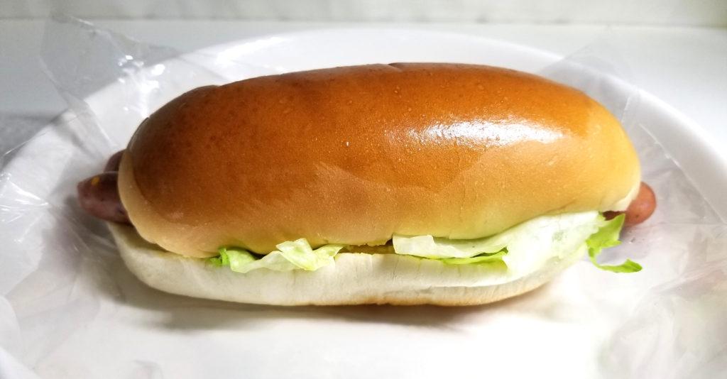 tajimaダブルホットドッグ全体像