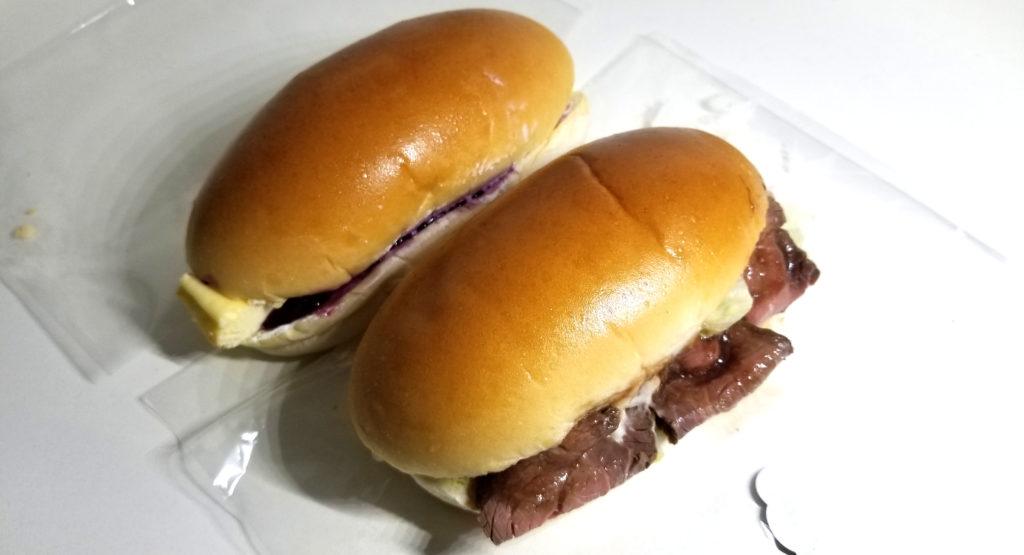 tajimaローストビーフポテトチーズケーキサンドトップ画像