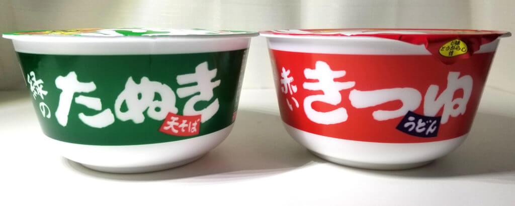 cup赤いきつねと緑のたぬき紹介画像