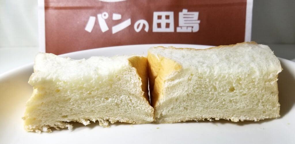 tajima福みみ食パン断面