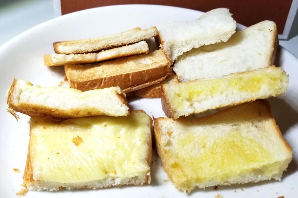 tajima福みみ食パン食べ方色々断面